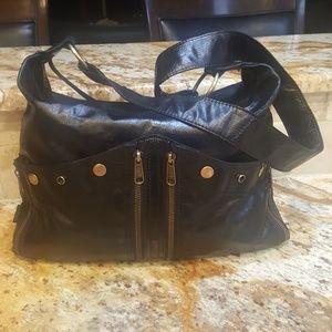 Tano Leather Shoulder/Cross-body Bag